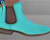 Teal Chelsea Boots (M)
