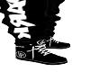 Linkin Park Black Shoes