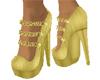 Glitz N Glam Pumps Gold