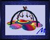 Horse Rainbow Playmat