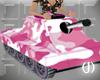 (J)PinkCamo Badgirl tank