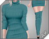 ~AK~ Fall Sweater: Teal