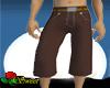 Long Brown Shorts
