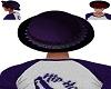 Purple Studded Bowlerhat