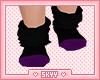 Kids Black Cat Socks