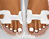 ṩOran Sandals White
