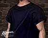 Darkblue shirt.