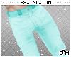 #jeans: cyan