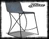 Blue/Blk Bar Stool