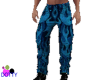 pants on fire blue
