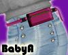 ! BA RLS Pink Belt Bag