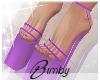 Purple 'kini Heels