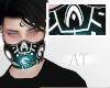 AT White Gas Mask