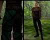 MEDIEVAL PANTS/BOOTS GRN
