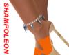 Glamour silver anklet L