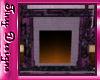Tiny Purple Fireplace