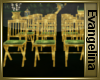 *EE* Gold Wedding Chairs