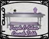 Purple&Silver Table