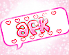 afk sign (cute) <3
