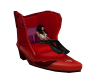 Red Boot Chair
