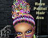 Rave Pastel Hair Ava An