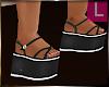 :KiD: Black & WhT Shoes