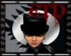 -ETD-Top Hat w.Blk Hair