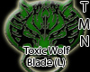 Toxic Wolf Blade (L)