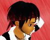 Red Tip Hair w/ Bandana