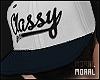 Classy White Cap