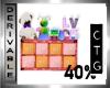 CTG  DRESSER 40% MESH