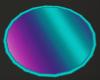 Neon Round Rug