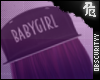 BabyGirl Snapback
