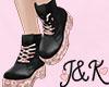 | J&K | Rose Gold Boots