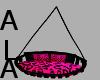 ALA- pink cheeta swing