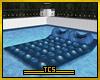 Cozy pool bed