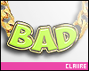 C|Bad Neon Necklace