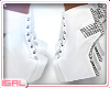 ► Studded White .Boots