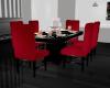 Red & Black Dinner Table
