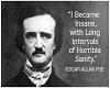 *p Edgar Allen Poe