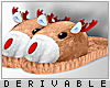 0 | Reindeer Slippers M