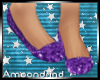 AM:: Purple Glitter flat