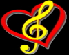 Love music particle