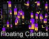 Halloween Batty Candles