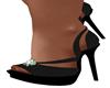 Black Leather Heels