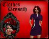 BS* Lavender Flash Dress