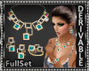 Multi-Gem Jewelry Set