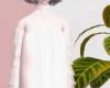 White loose skirte