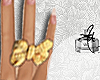 {U} Lala Ring bow