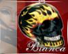 Flame Skull Chain